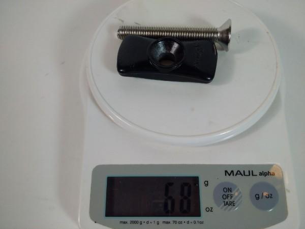 Seitenständer Gegenhalter Standart mit Schraube