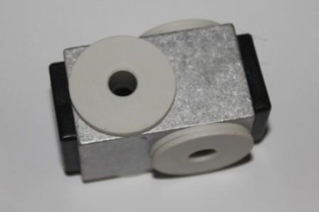 Funtrailer Alublock für Kupplung