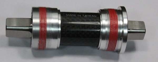 4-Kant-Tretlager Titanachse 160g leicht